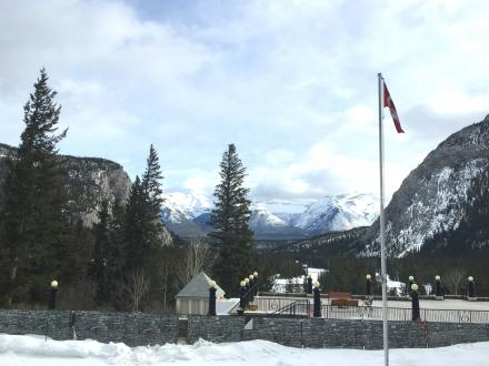 Fairmount view Banff 2017