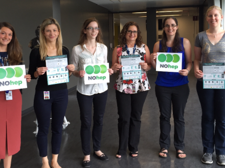CanHepC staff and trainees in support of NOhep and WHD